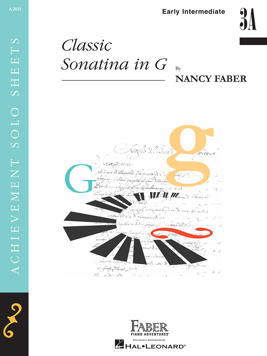 classic sonatina in gachievement solo sheetsa 2015 early intermediate 3a