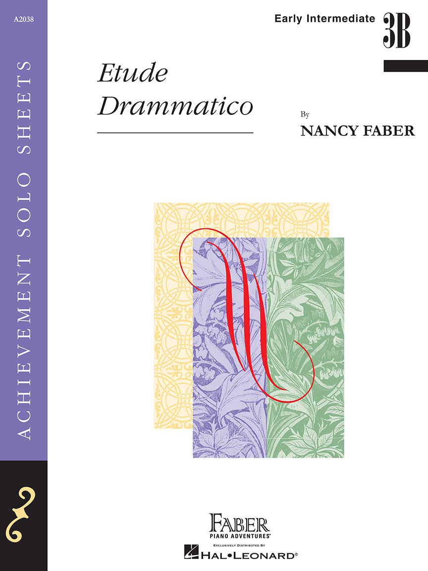 faber piano solos early intermediate set 4 piano solos set etude drammatico willow tree waltz would you go in whispers of the wind piano solos