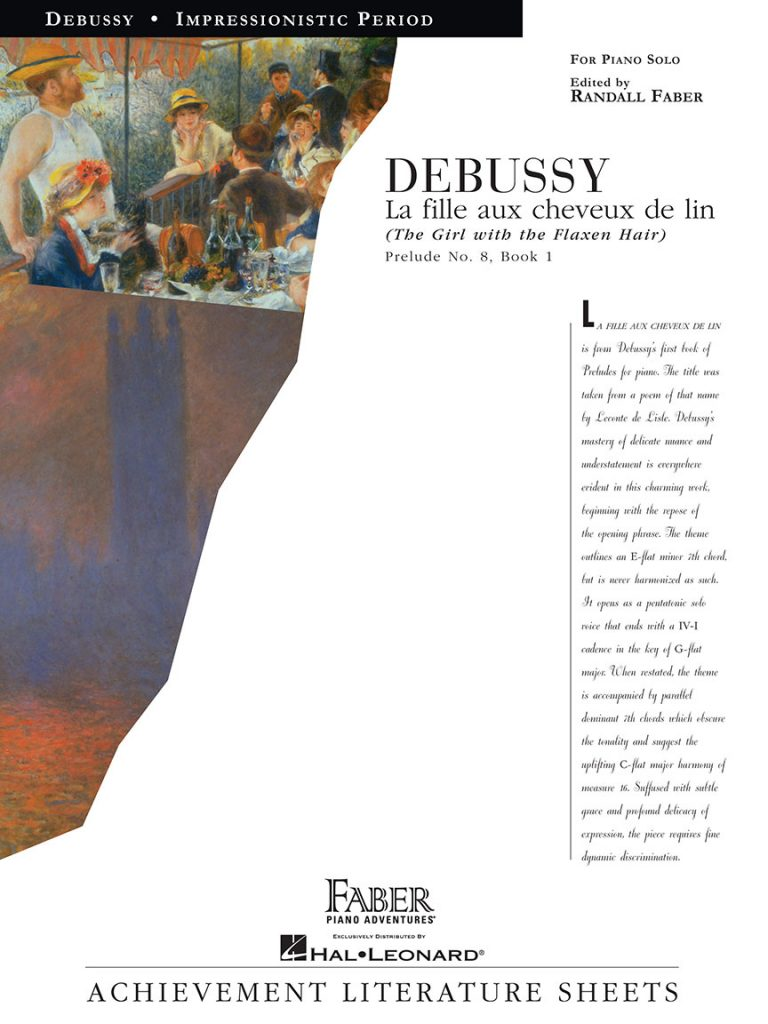 Debussy - La fille aux cheveux de lin (The Girl with the Flaxen Hair)