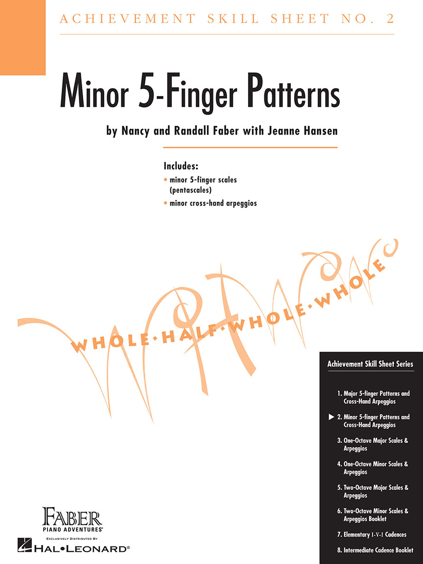 Achievement Skill Sheet No. 2: Minor 5-Finger Patterns
