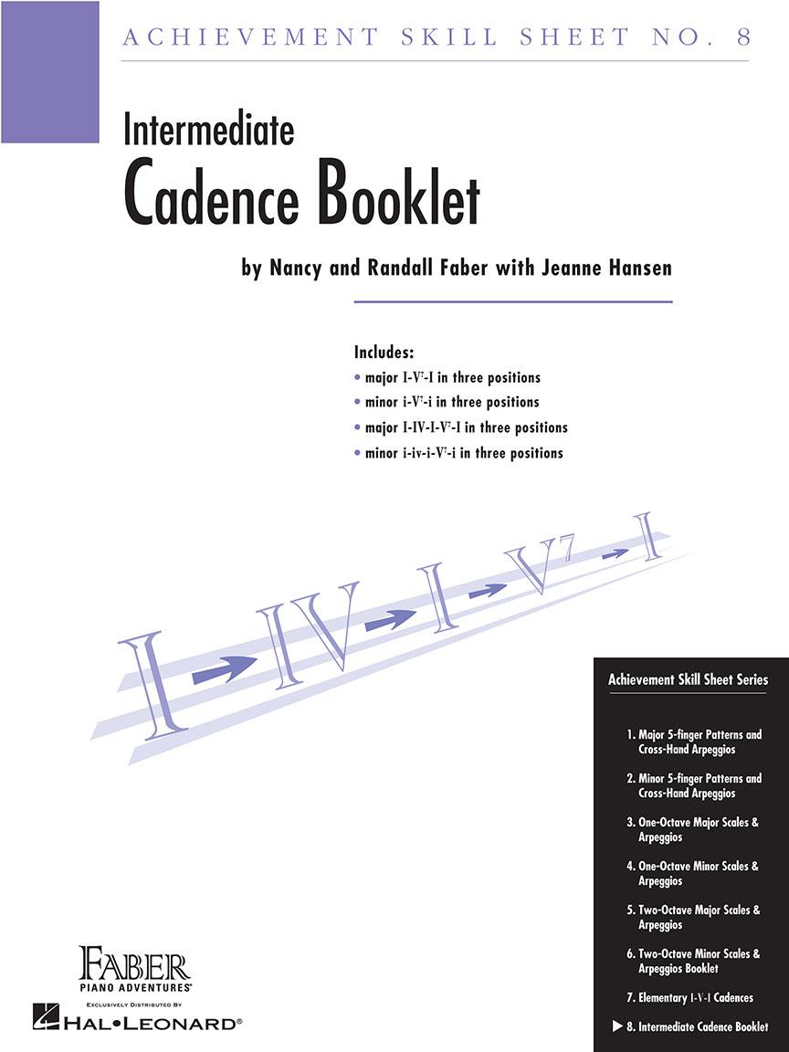 Achievement Skill Sheet No. 8: Cadence Booklet