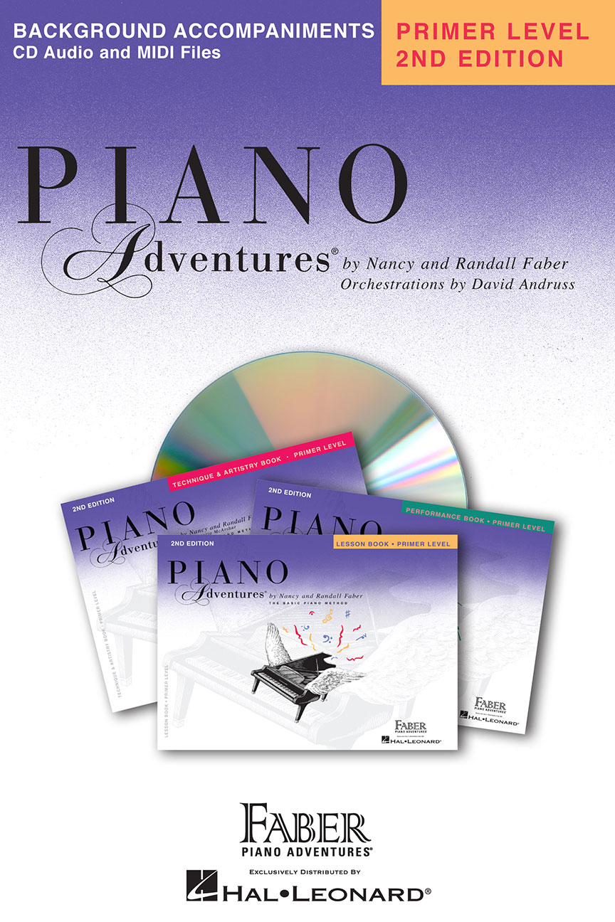 Piano Adventures® Primer Level Lesson Book Enhanced CD
