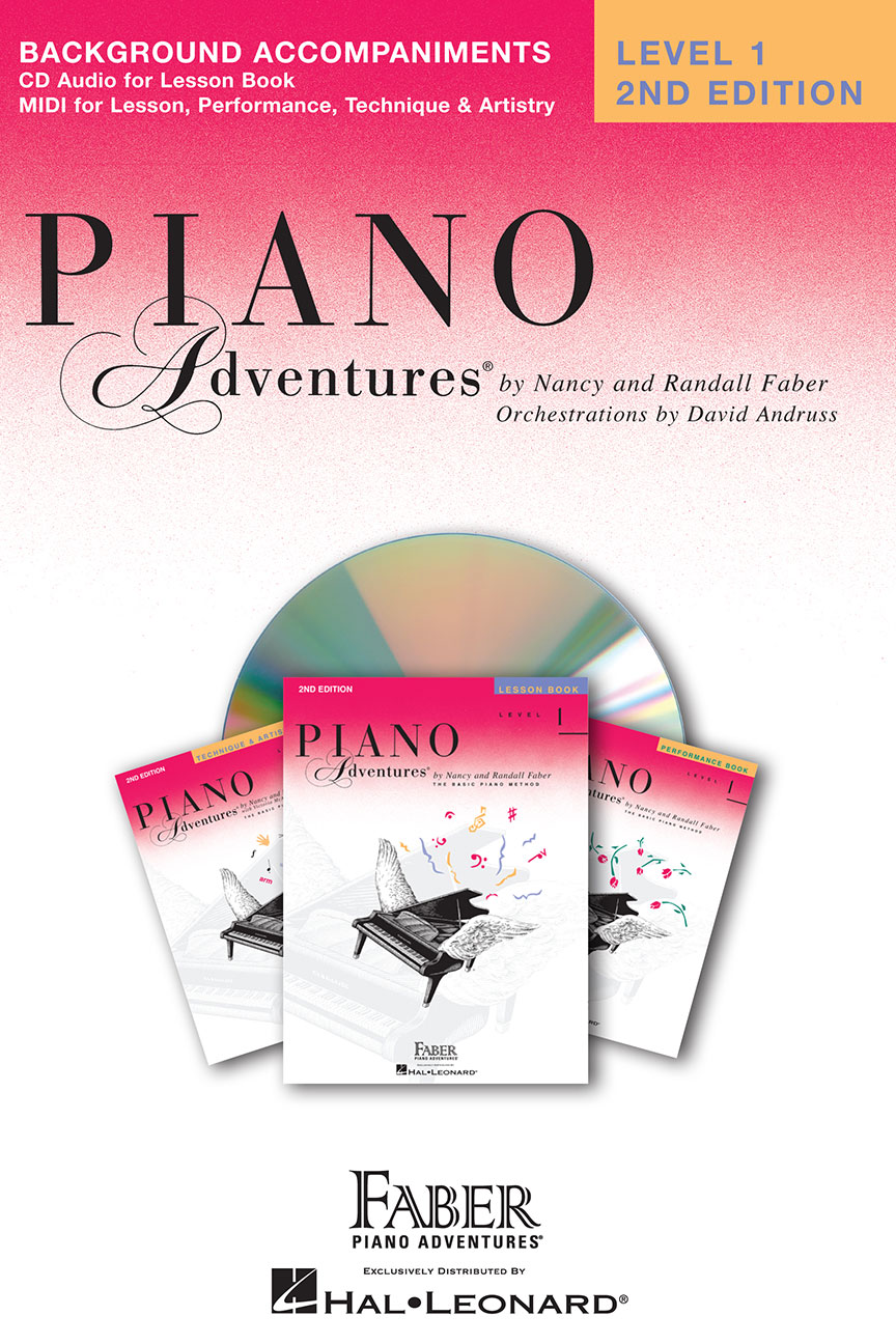 Piano Adventures® Level 1 Lesson Book Enhanced CD