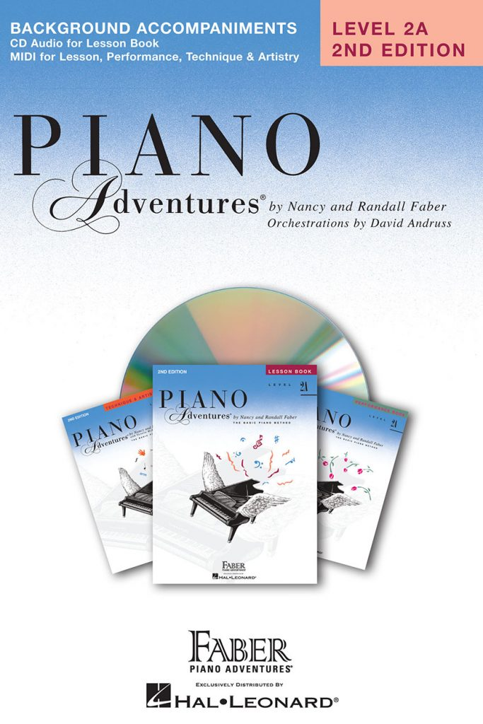 Piano Adventures® Level 2A Lesson Book Enhanced CD
