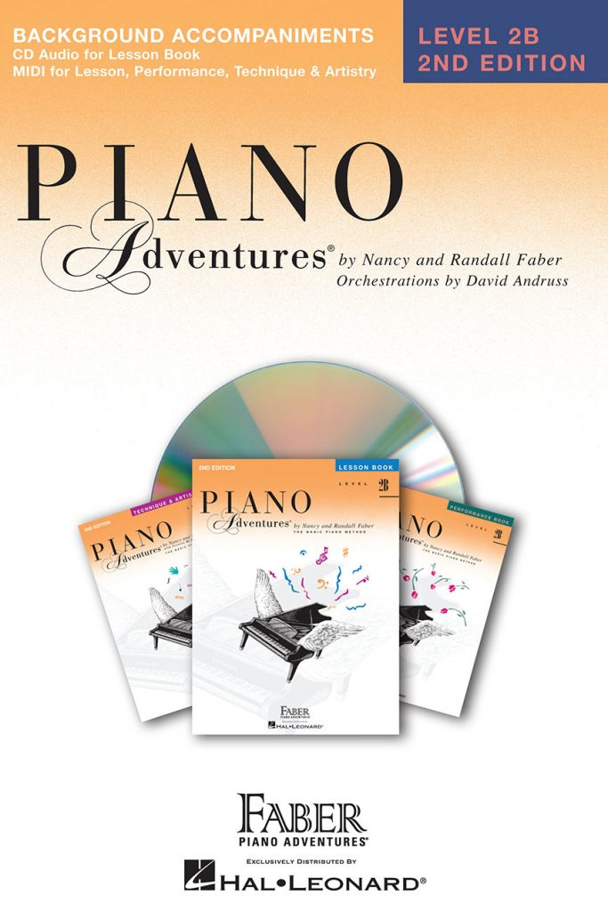 Piano Adventures® Level 2B Lesson Book Enhanced CD