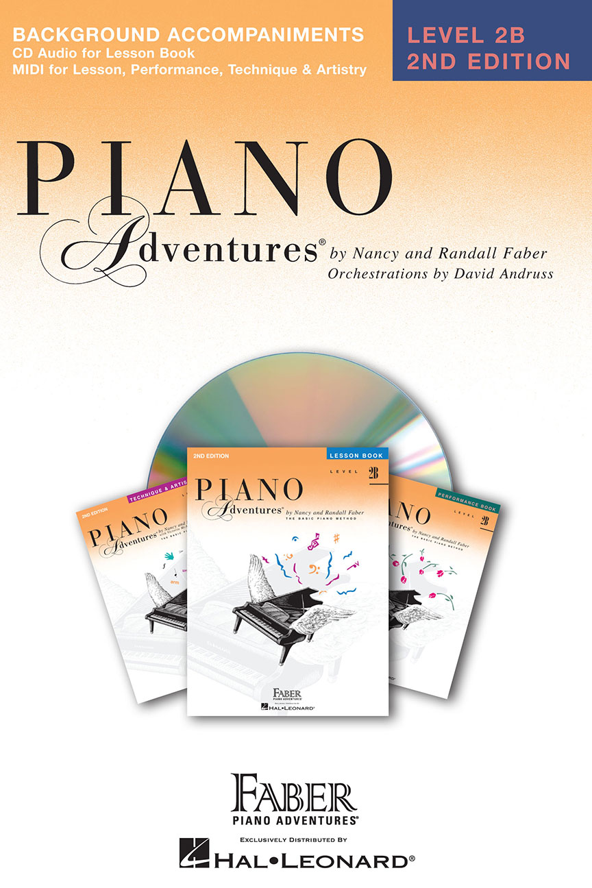 Piano Adventures® Level 2B Lesson Book Enhanced CD