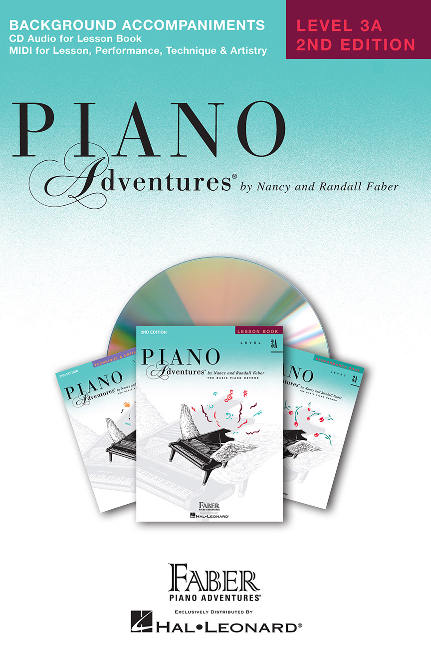 Piano Adventures® Level 3A Lesson Book Enhanced CD