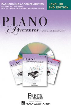 Piano Adventures® Level 3B Lesson Book Enhanced CD