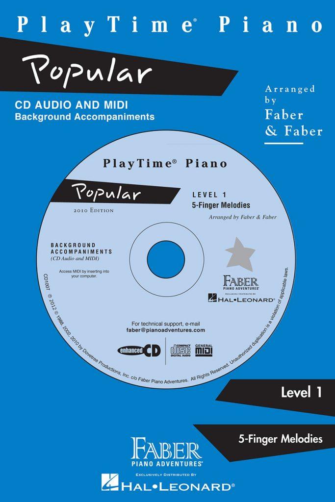 PlayTime® Piano Popular CD