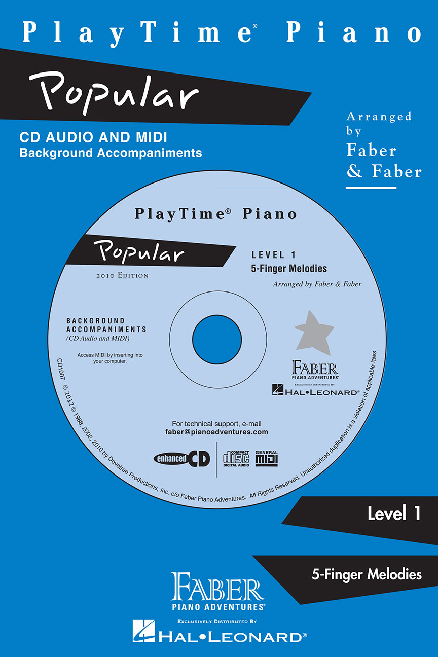 PlayTime® Piano Popular CD