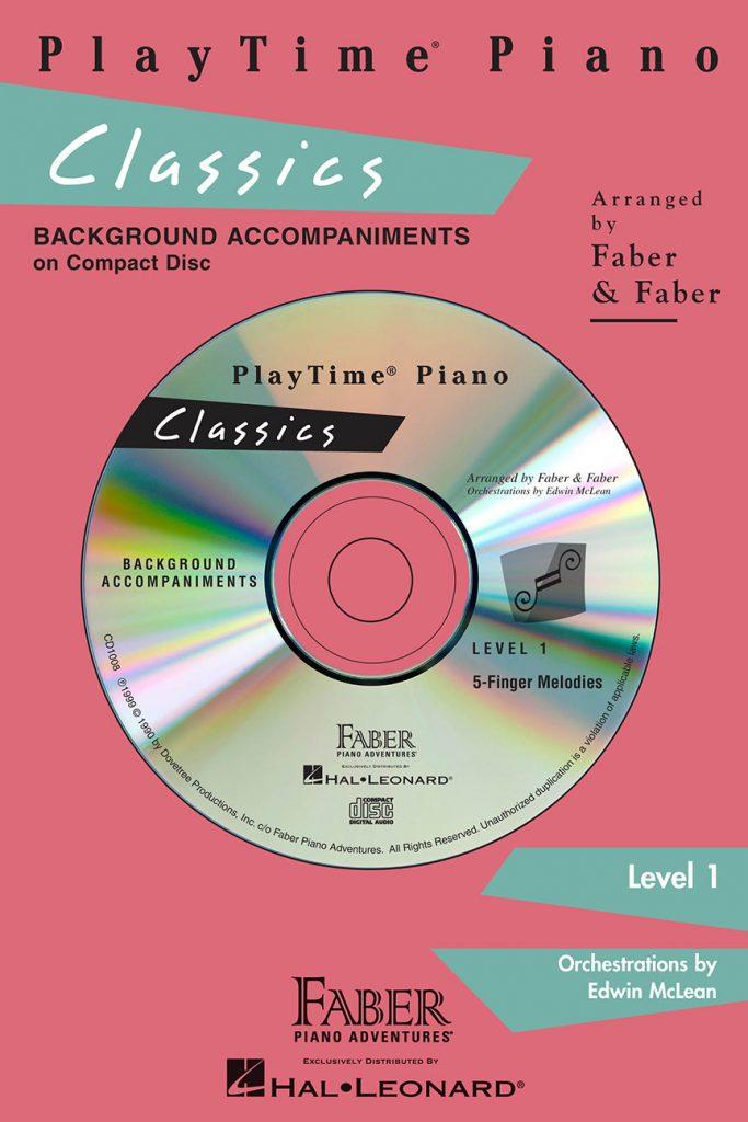 PlayTime® Piano Classics CD