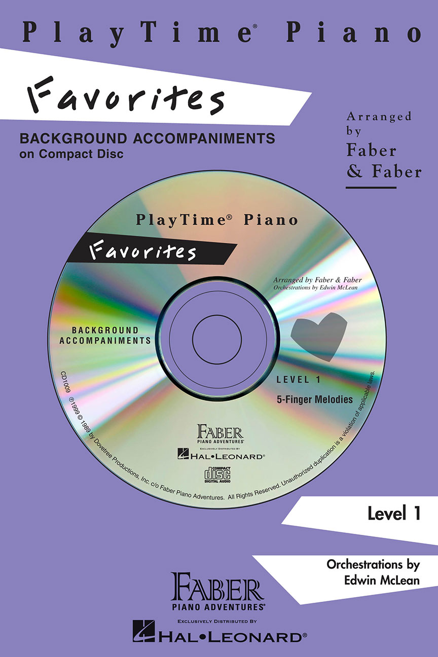 PlayTime® Piano Favorites CD