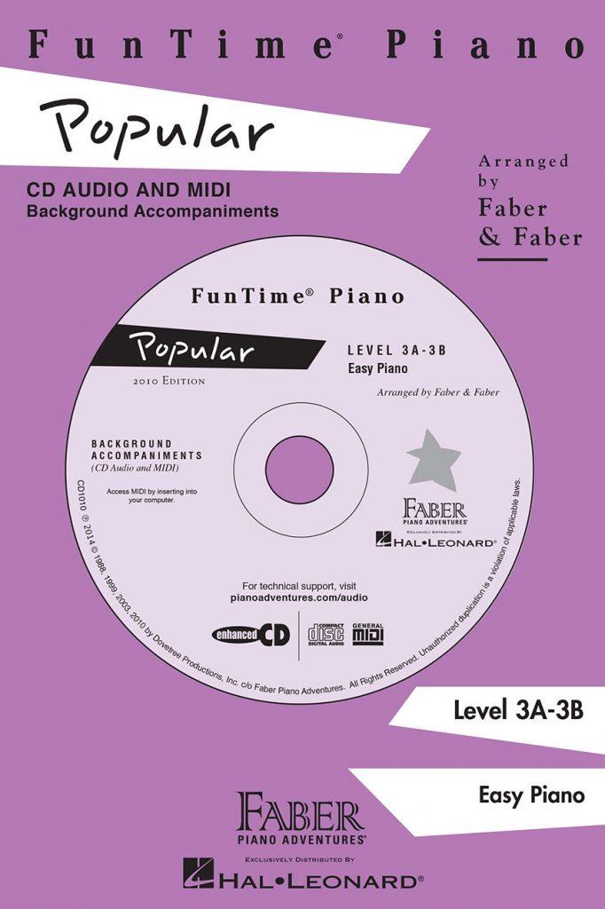 Funtime® Piano Popular CD