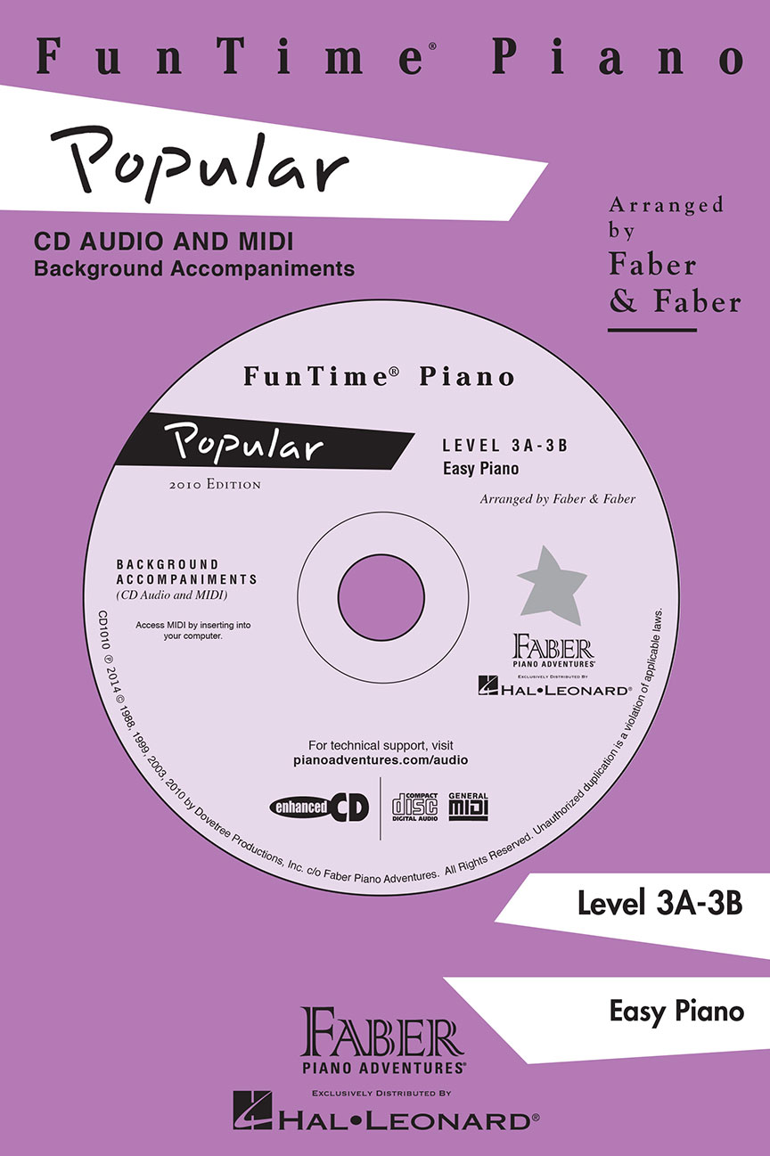 Funtime® Piano Popular CD