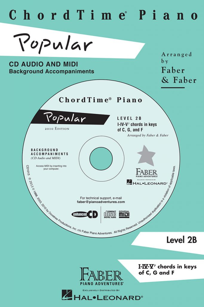 ChordTime® Piano Popular CD