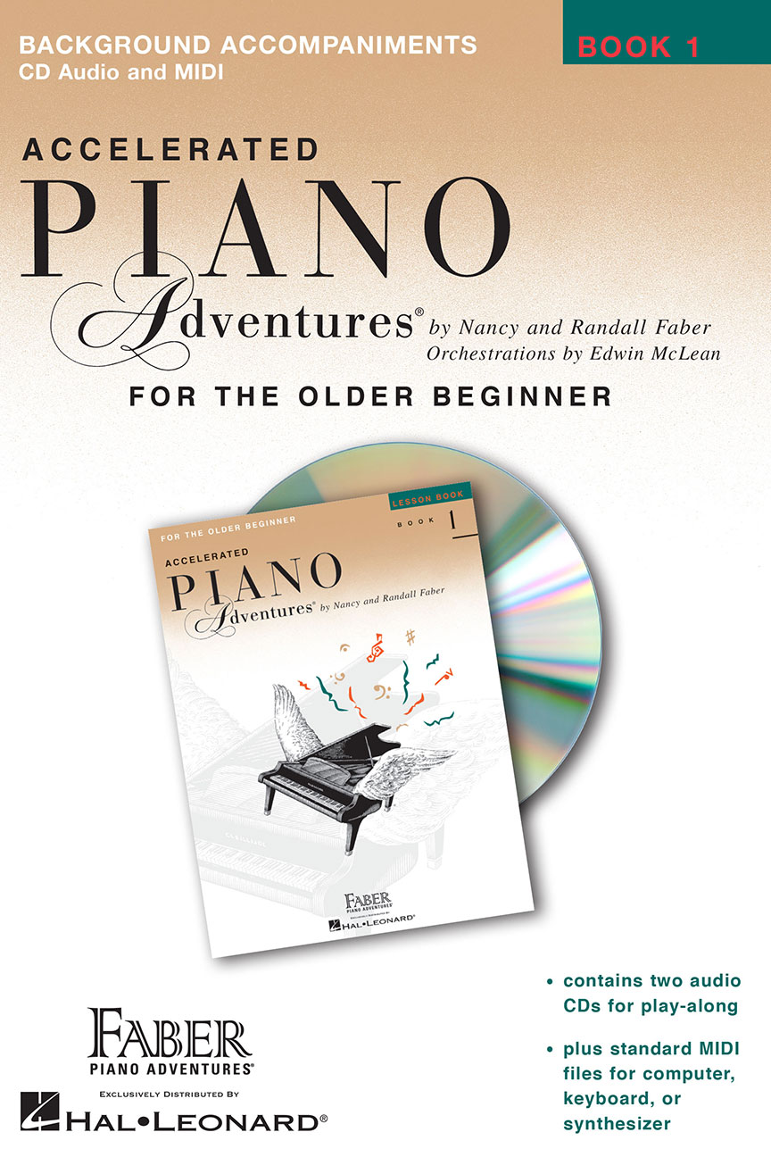 Accelerated Piano Adventures® Lesson Book 1 Enhanced CD