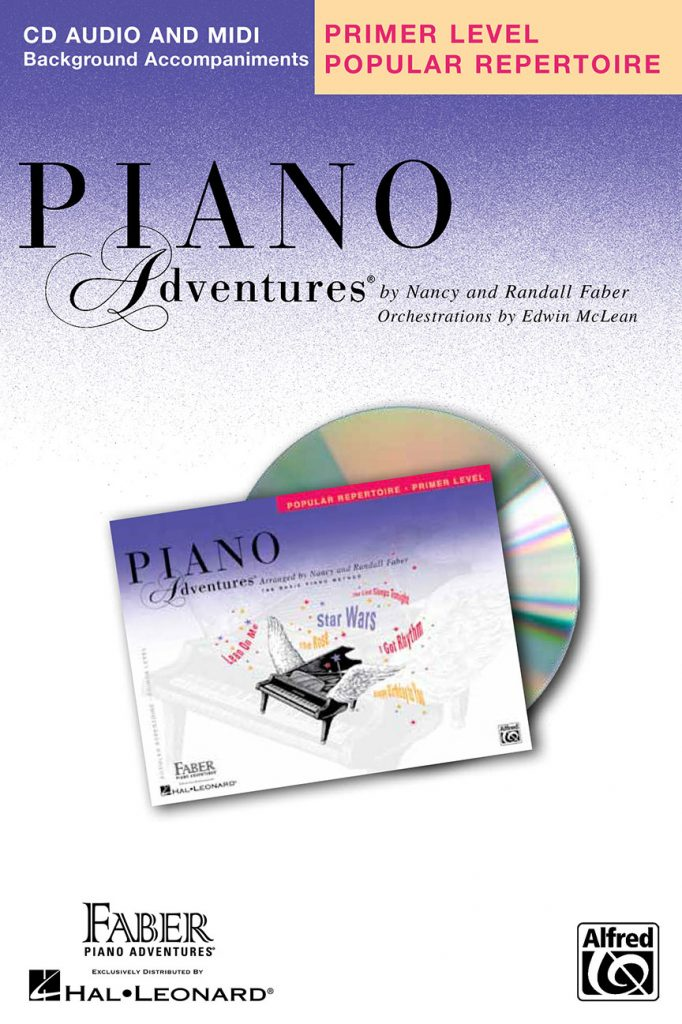 Piano Adventures® Primer Level Popular Repertoire CD