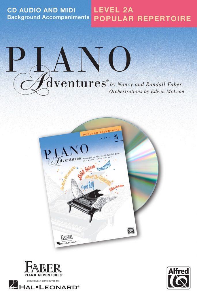 Piano Adventures® Level 2A Popular Repertoire CD