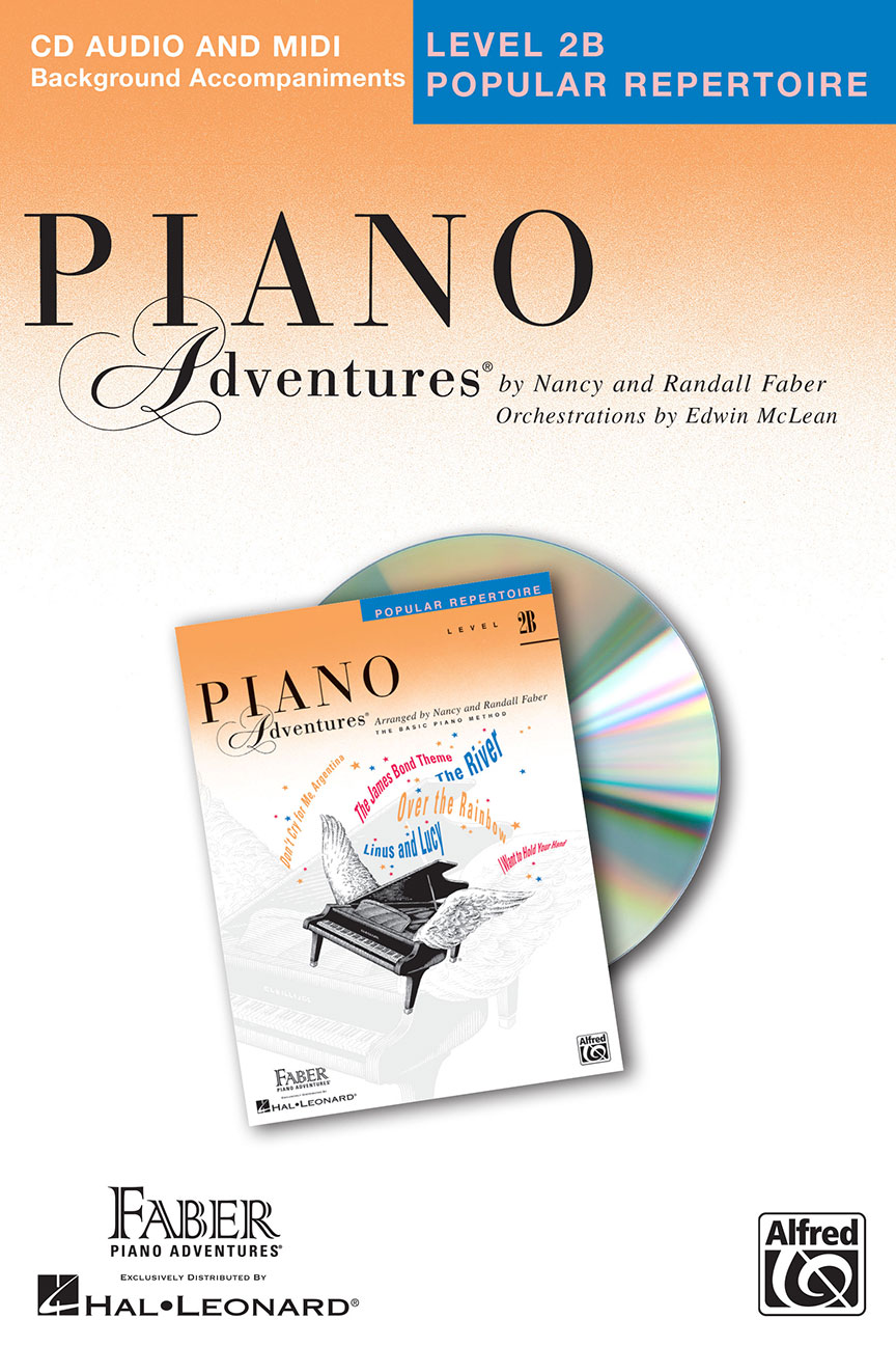 Piano Adventures® Level 2B Popular Repertoire CD