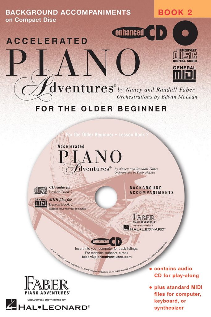 Accelerated Piano Adventures® Lesson Book 2 Enhanced CD
