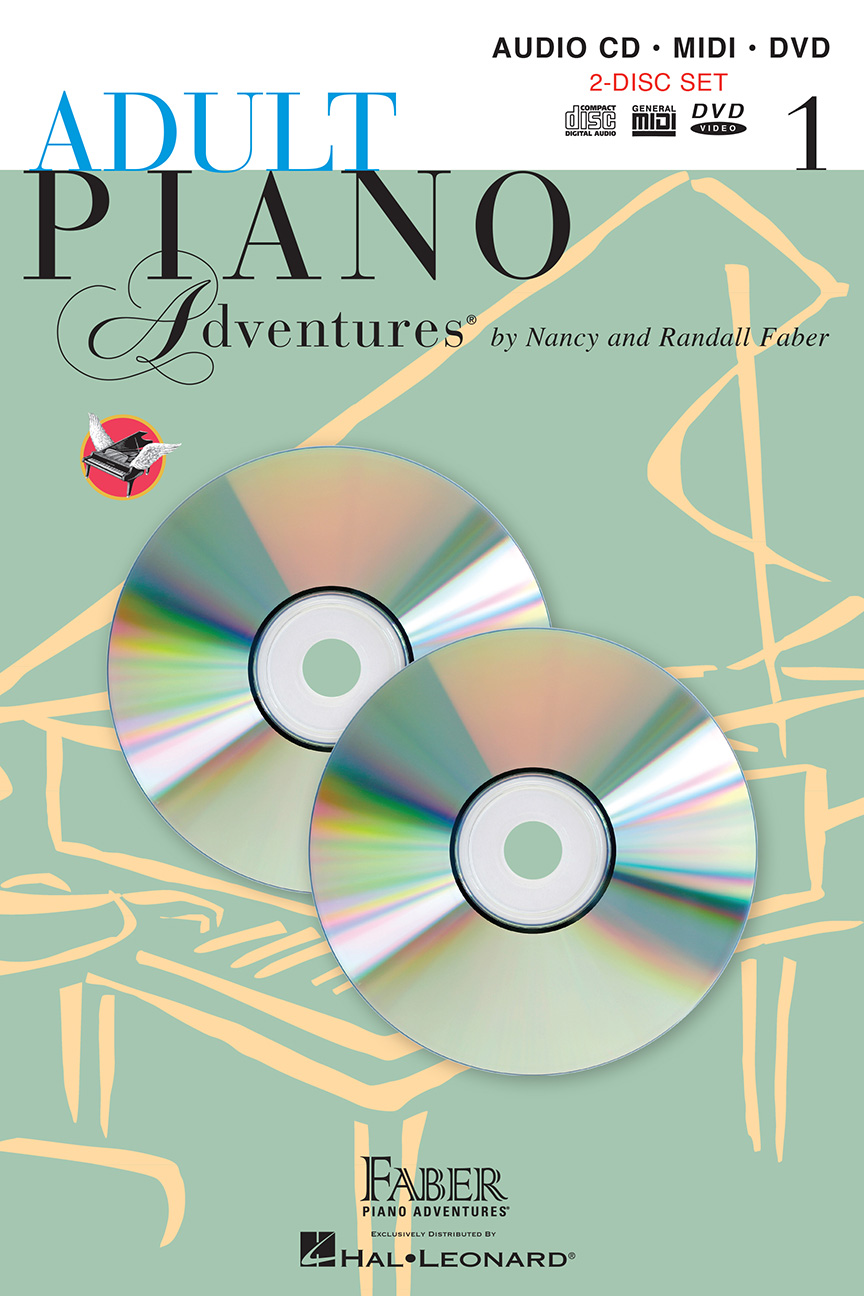 Adult Piano Adventures® All-in-One Lesson Book 1 CD