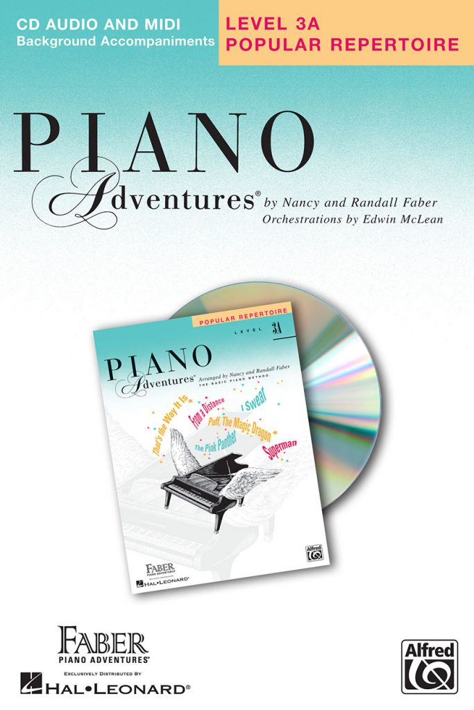 Piano Adventures® Level 3A Popular Repertoire CD