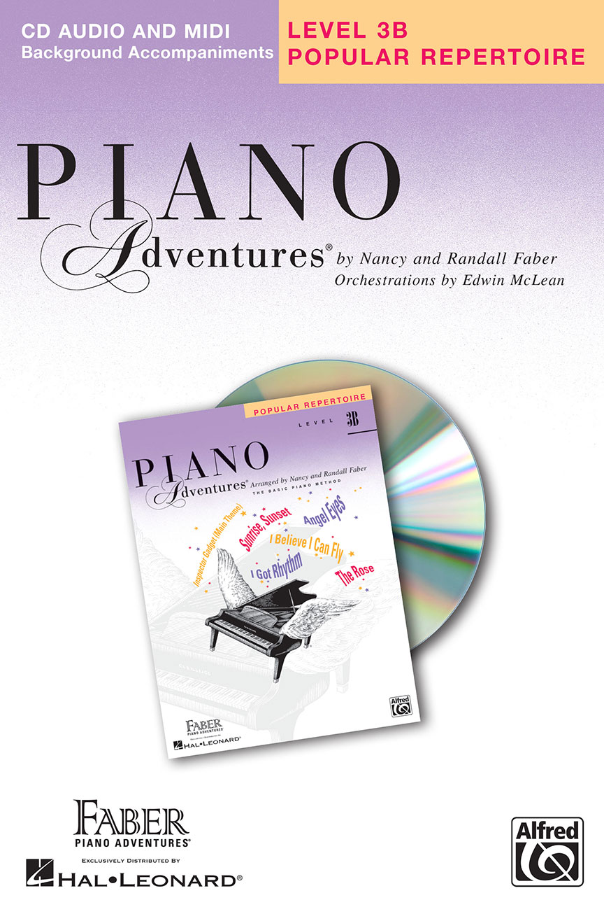 Piano Adventures® Level 3B Popular Repertoire CD