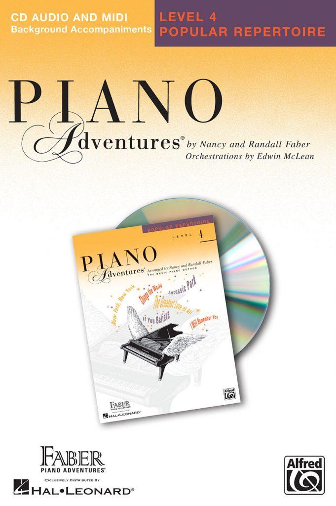 Piano Adventures® Level 4 Popular Repertoire CD