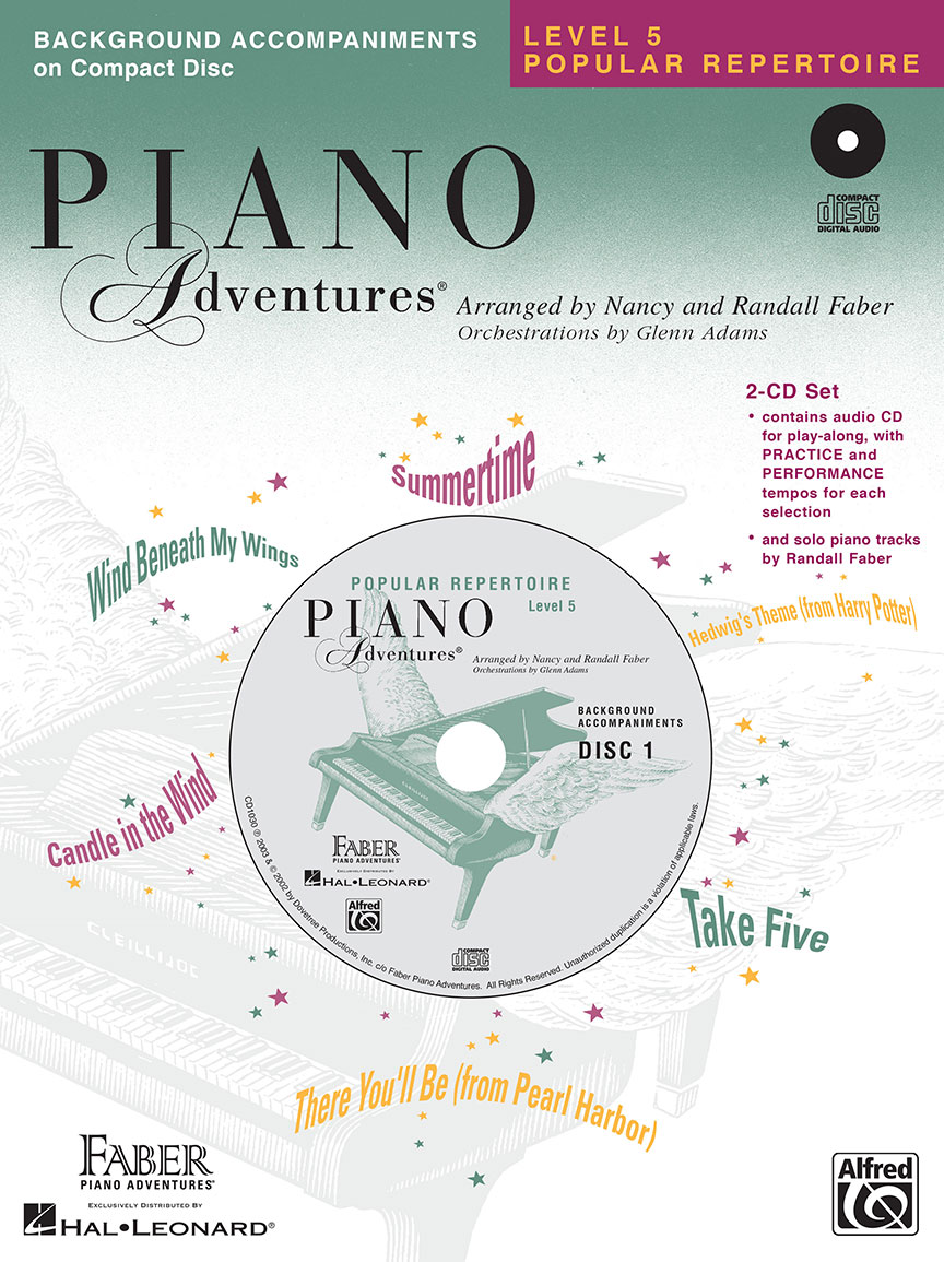 Piano Adventures® Level 5 Popular Repertoire CD