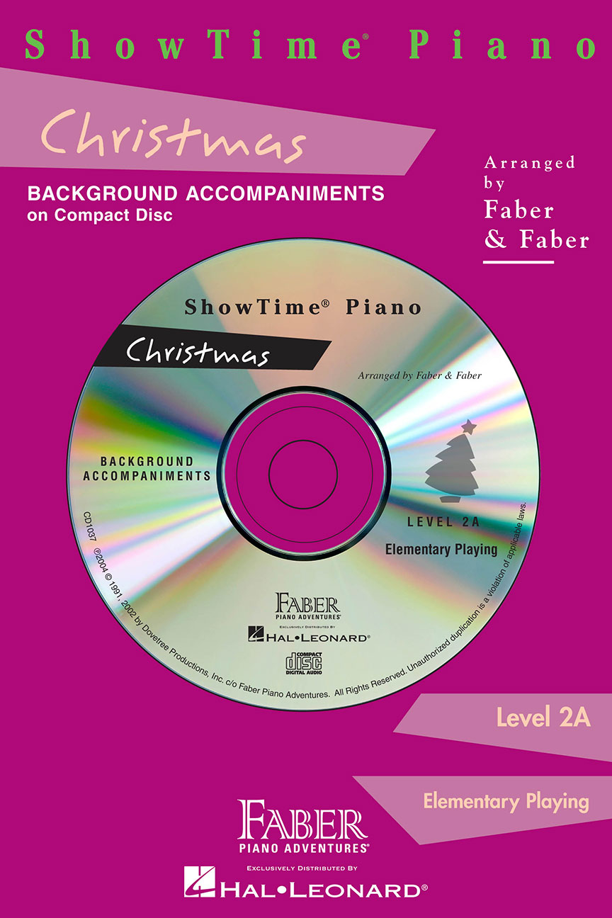 ShowTime® Piano Christmas CD