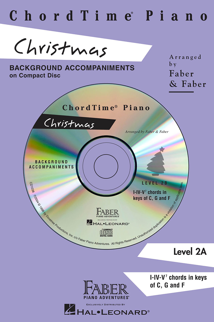ChordTime® Piano Christmas CD