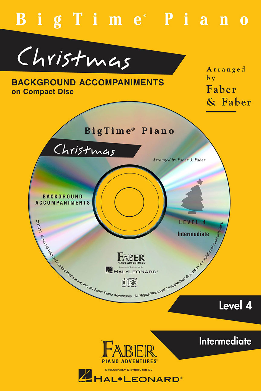 BigTime® Piano Christmas CD
