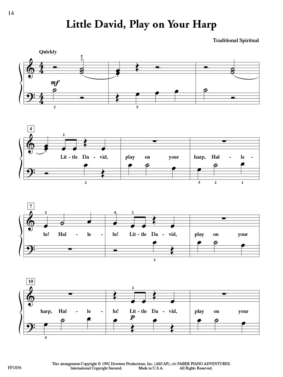 ShowTime® Piano Hymns | Faber Piano Adventures