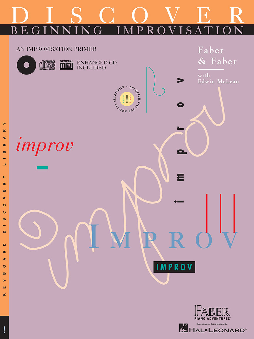 Discover Beginning Improvisation with Enhanced CD