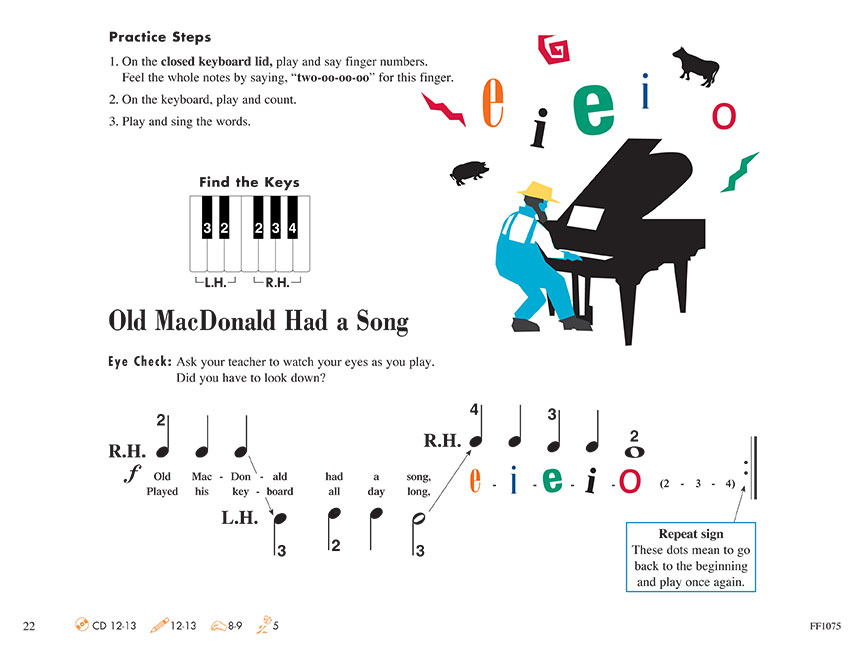 Piano Adventures 174 Primer Level Lesson Book 2nd Edition