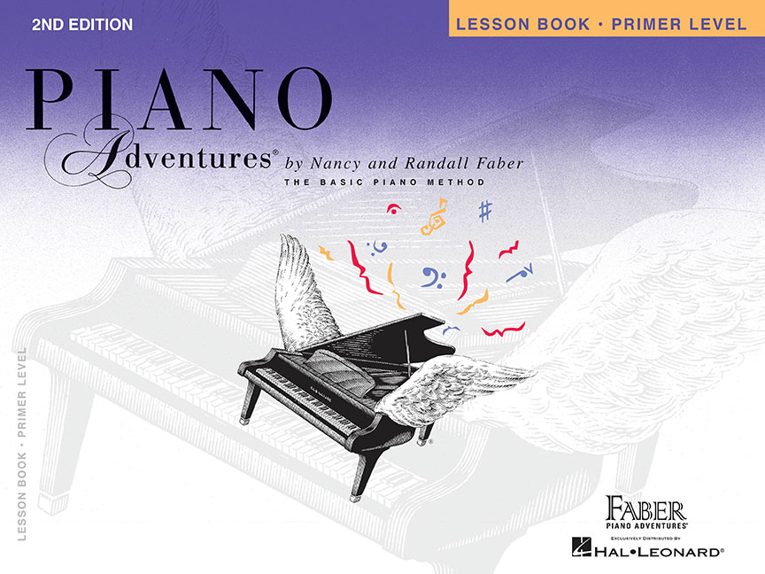 Piano Adventures® Primer Level Lesson Book - 2nd Edition