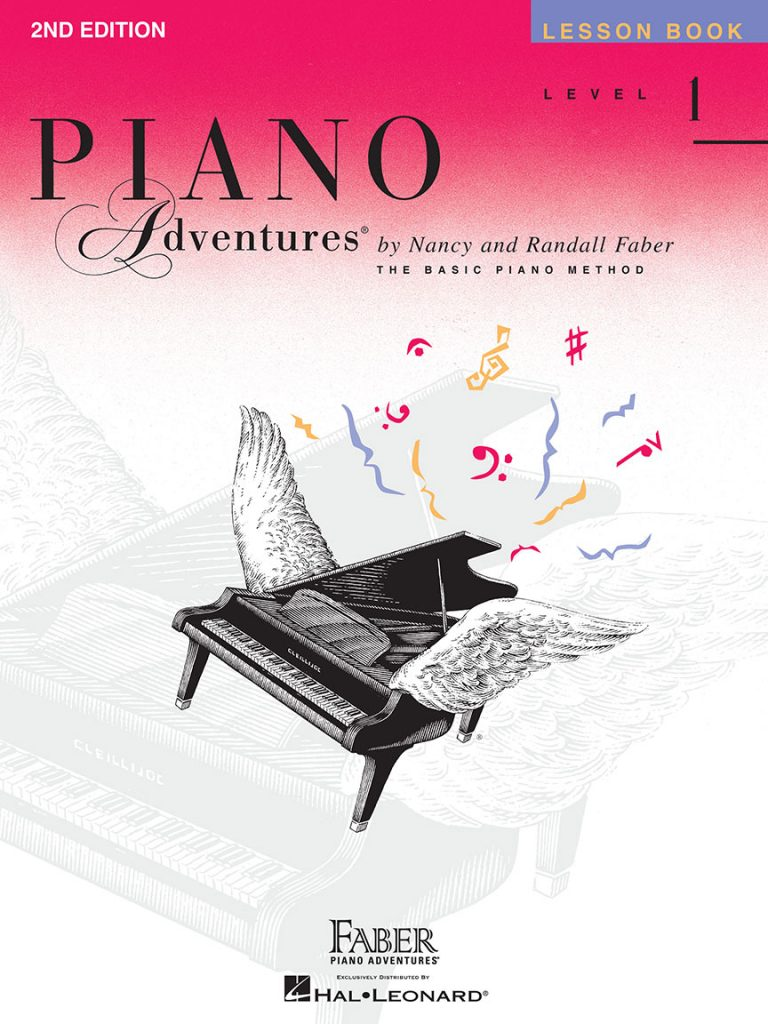 Piano Adventures® Level 1 Lesson Book - 2nd Edition