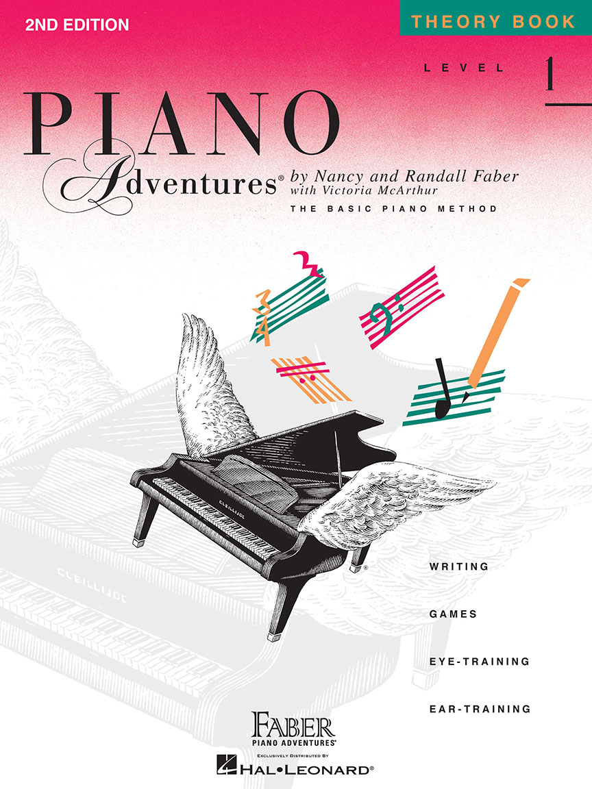 Piano Adventures® Level 1 Theory Book - 2nd Edition