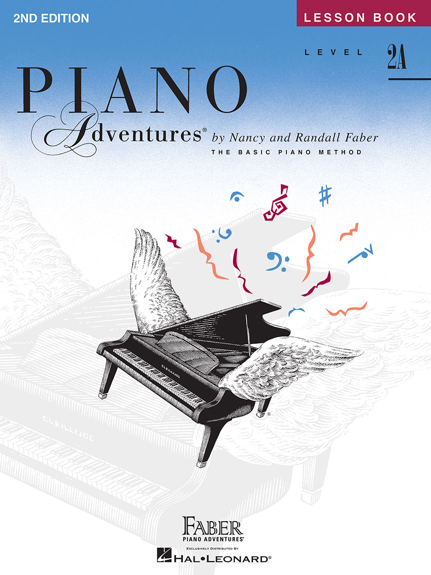 Piano Adventures® Level 2A Lesson Book - 2nd Edition