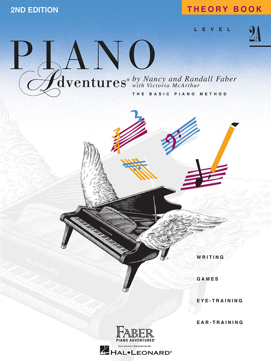 Piano Adventures® Level 2A Theory Book - 2nd Edition