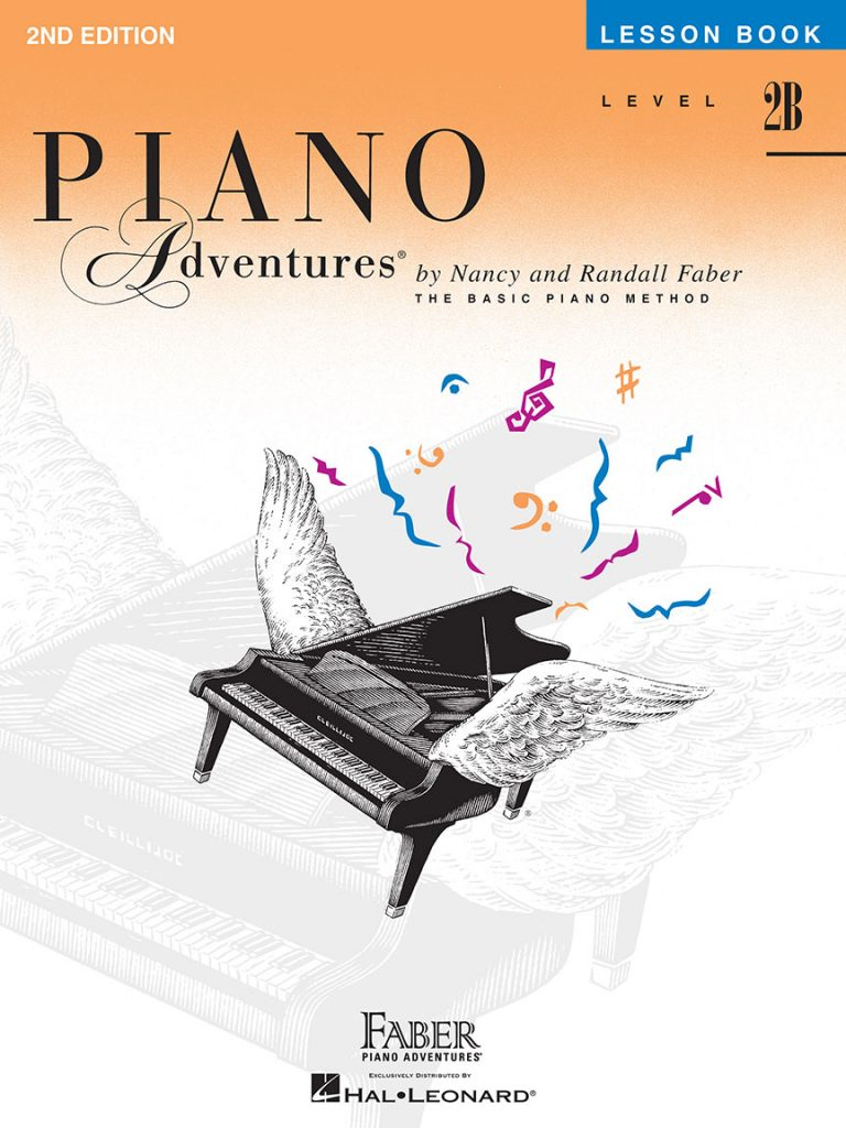 Piano Adventures® Level 2B Lesson Book - 2nd Edition