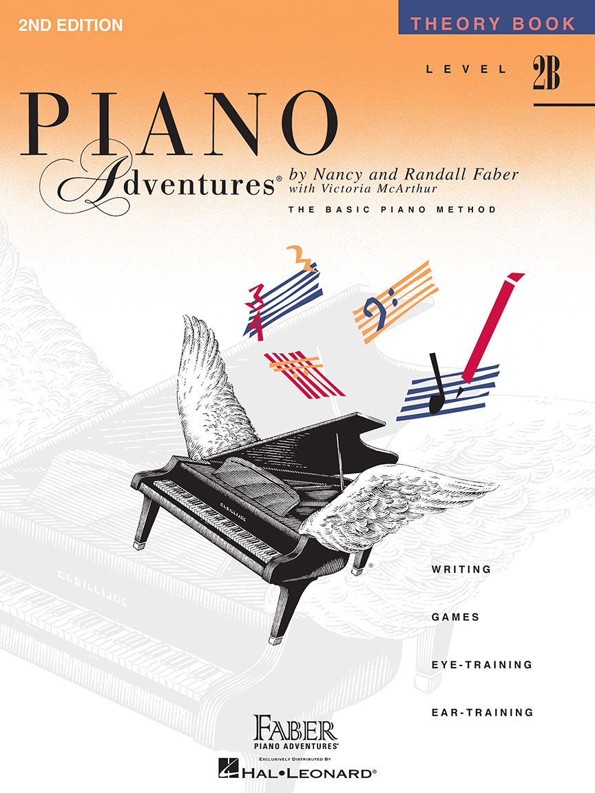 Piano Adventures® Level 2B Theory Book - 2nd Edition