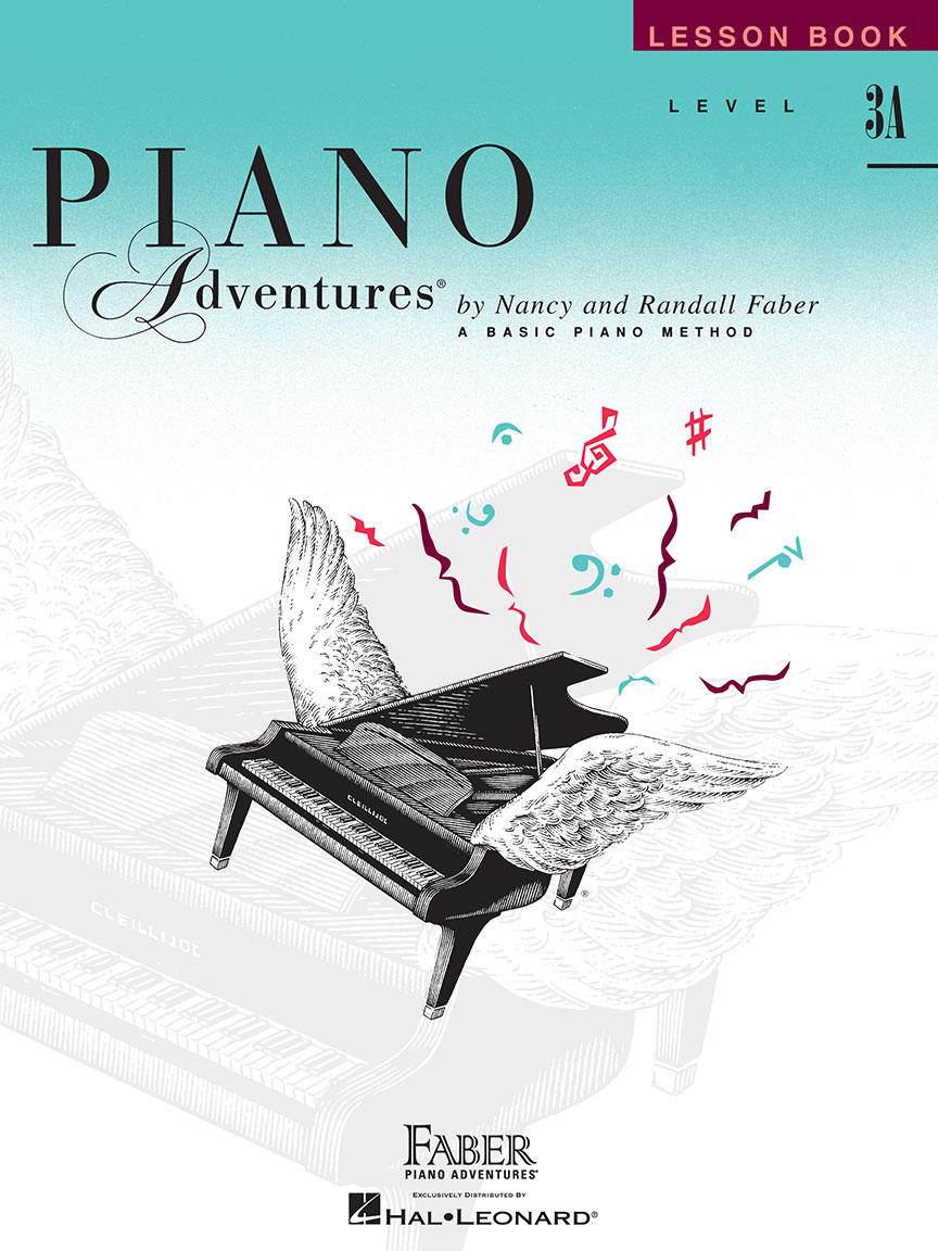 Piano Adventures® Level 3A Lesson Book - 2nd Edition