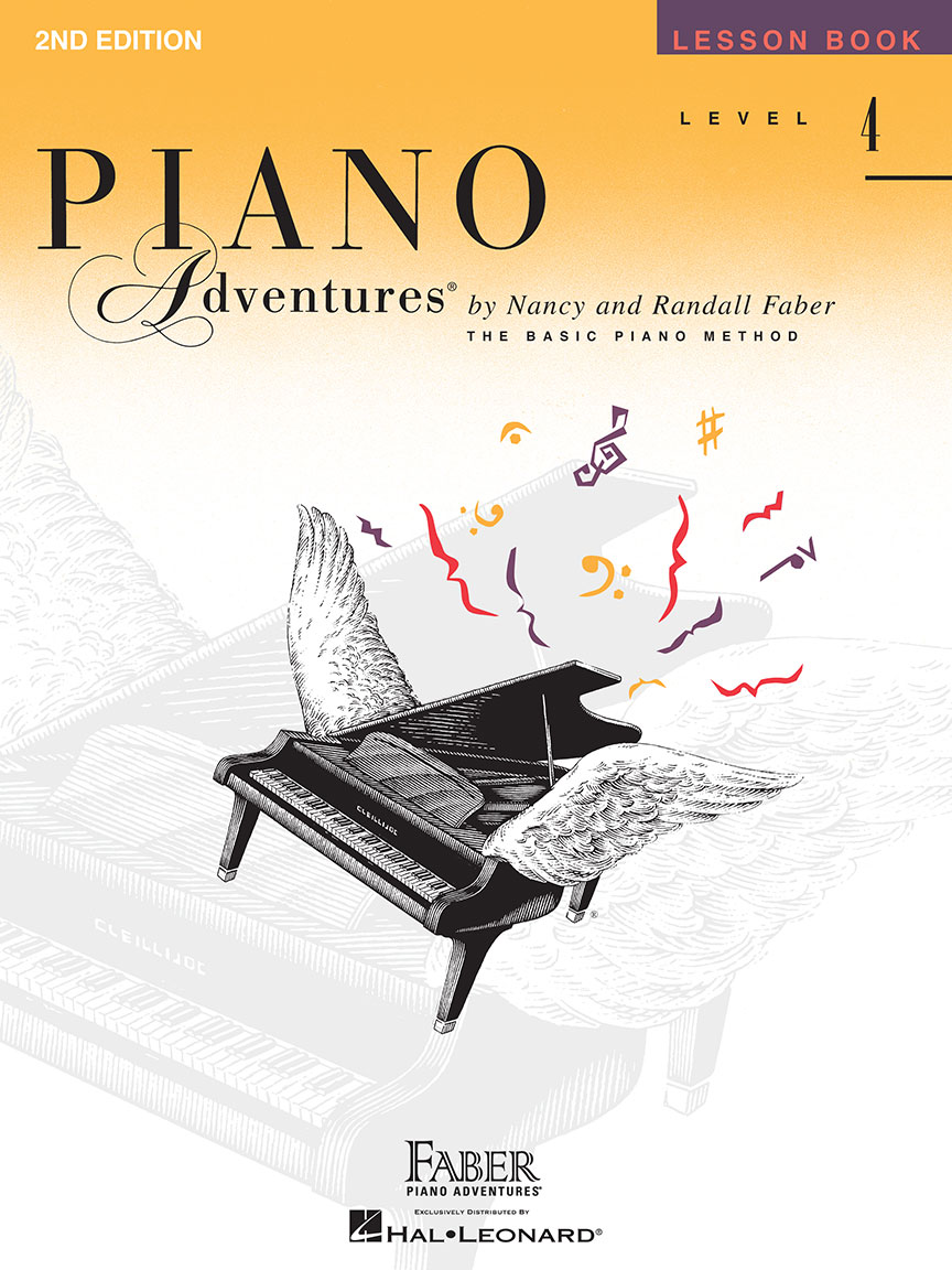 Piano Adventures® Level 4 Lesson Book - 2nd Edition