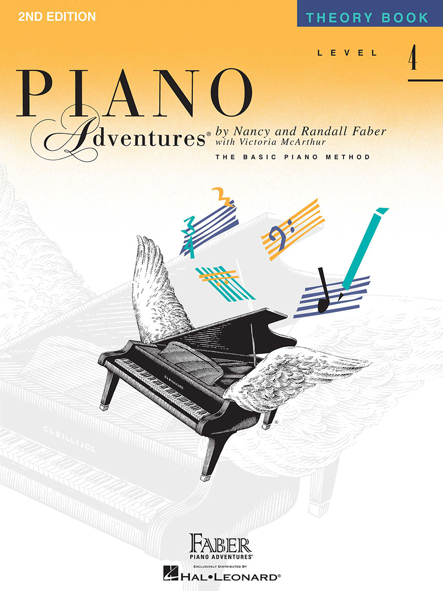 Piano Adventures® Level 4 Theory Book - 2nd Edition