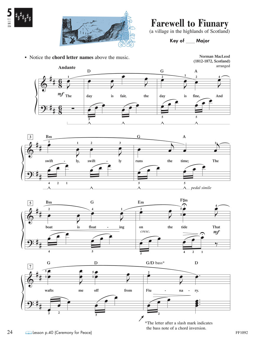 Piano Adventures 174 Level 4 Performance Book 2nd Edition