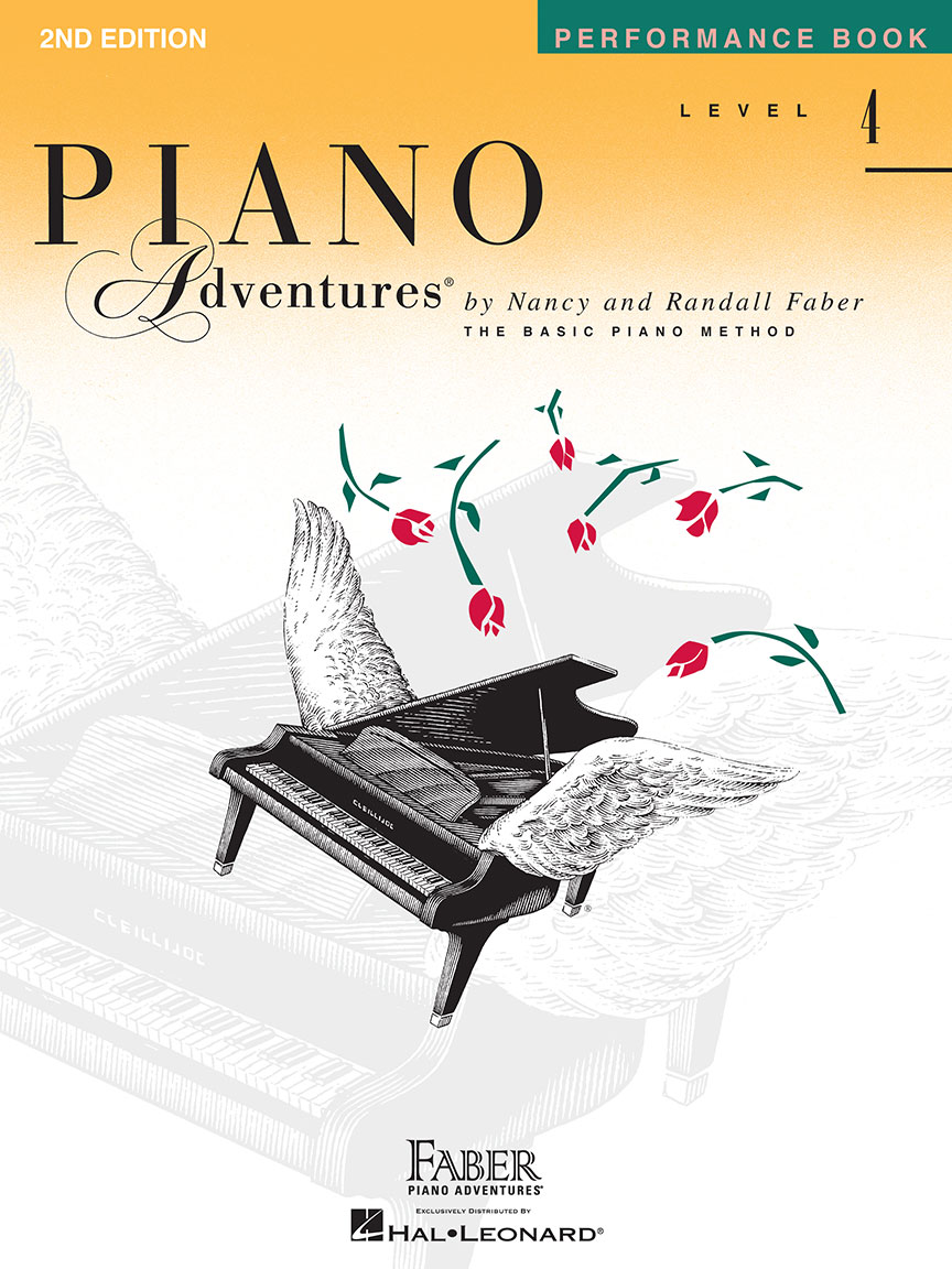 Piano Adventures® Level 4 Performance Book - 2nd Edition