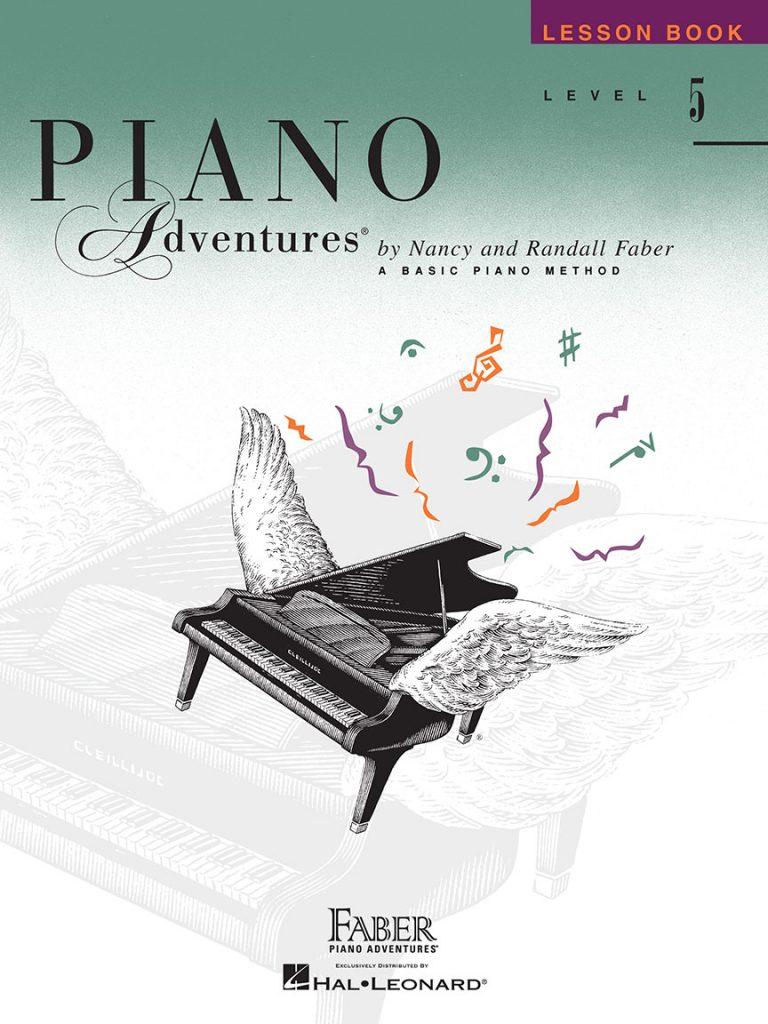 Piano Adventures® Level 5 Lesson Book