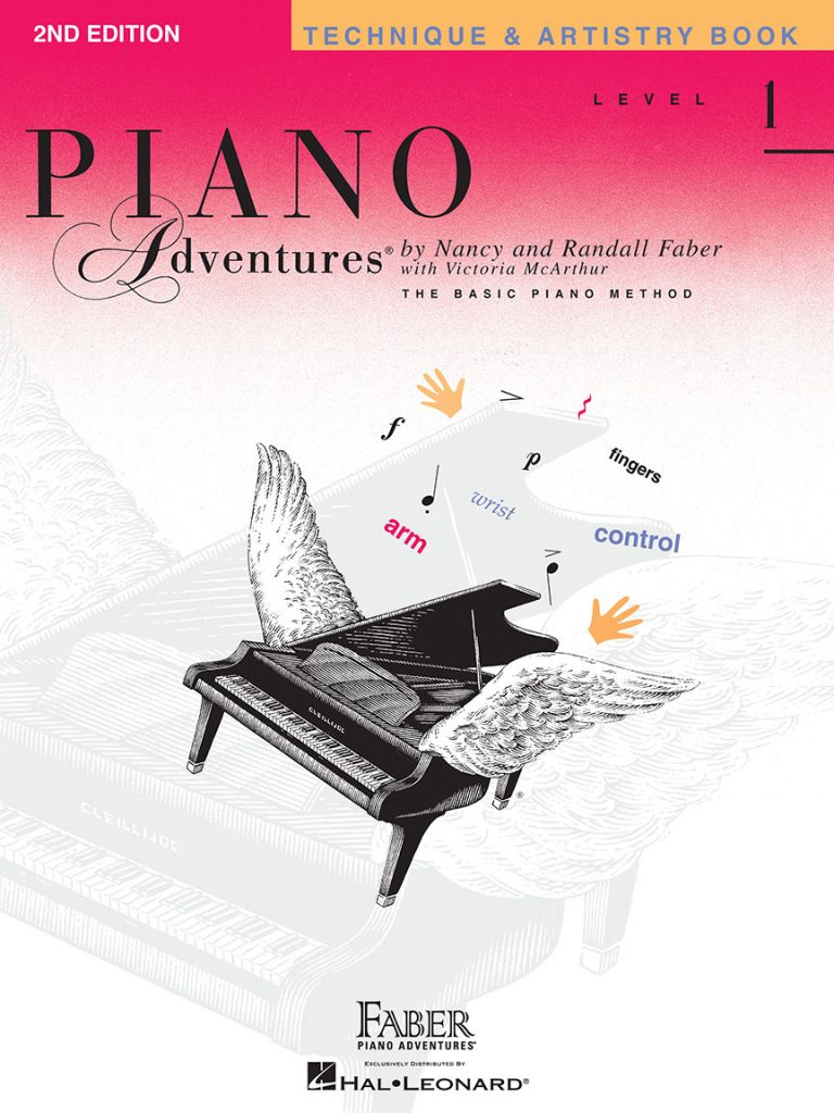 Piano Adventures® Level 1 Technique & Artistry Book - 2nd Edition