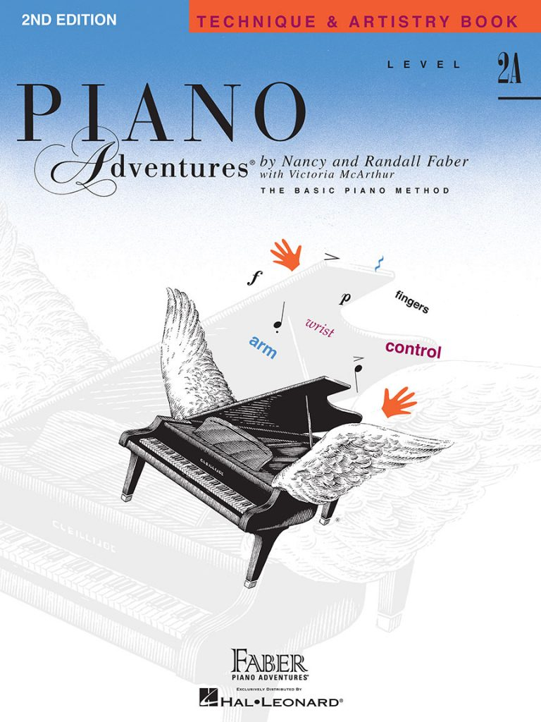 Piano Adventures® Level 2A Technique & Artistry Book - 2nd Edition